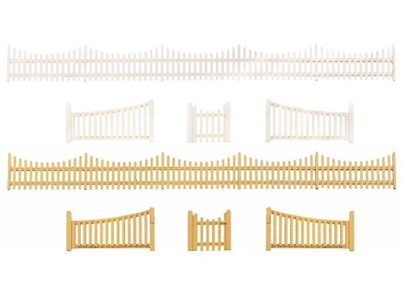 gartenzaun mit tor faller 272406. Black Bedroom Furniture Sets. Home Design Ideas