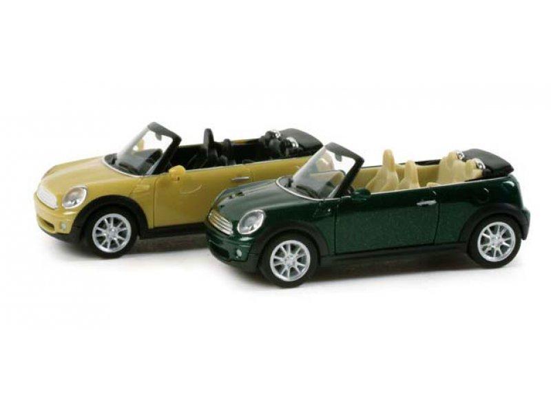 Mini Cooper Cabrio Met Herpa 034197
